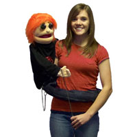 "Wrap Around 38"" Reggie (NWP) Puppet"