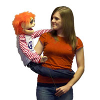 "Wrap Around 38"" Reggie (Hey Dude) Puppet"