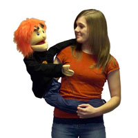 "Wrap Around 38"" Reggie (Basketball) Puppet"