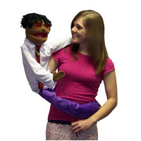 "Wrap Around 38"" Aaron Puppet"