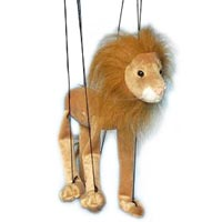 Baby Lion Marionette String Puppet