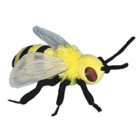 "10"" Bumble Bee Hand Puppet"