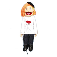 "28"" Karen (Peach) Full Body Ventriloquist Puppet"
