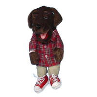 "14"" Hound Dog Glove Puppet"