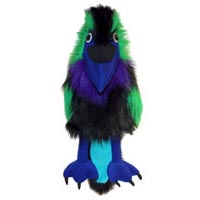Professional Large Bird Raven Puppet