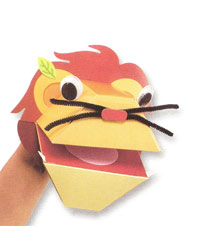 Lion Puppet Making Kit