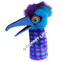 Snappers Stage Puppet Bird Pickle