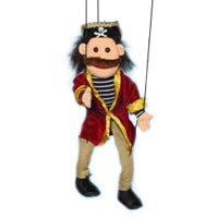 Pirate Marionette String Puppet