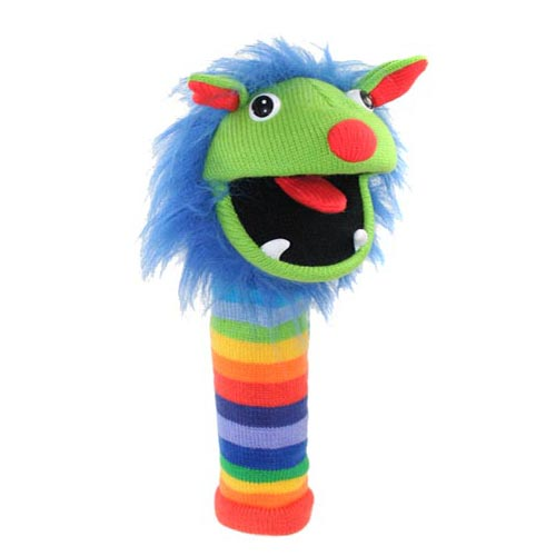 Sockettes Glove Puppet - Rainbow