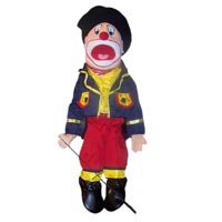 "28"" Clown (With Hat) Full Body Ventriloquist Puppet"