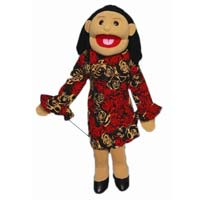"28"" Sofia Hispanic Mom Full Body Ventriloquist Puppet"