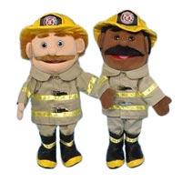 "14"" Firefighters Glove Puppet Starter Set"