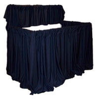 EXPRESS-A-STAGE Adjustable PVC 2 Tier Puppet Stage