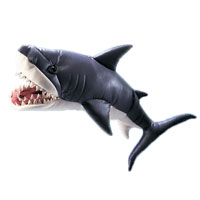 "Folkmanis 33"" Great White Shark Puppet"